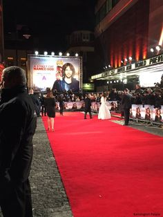 The Duchess of Cambridge carried out two engagements this evening: the Recovery Street Film Festival and the UK premiere of A Street Cat Na...