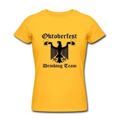 Vintage Oktoberfest Drinking Team t-shirt. $5 OFF Any Order $30 or More. Ends 10/13. #tshirt #tee