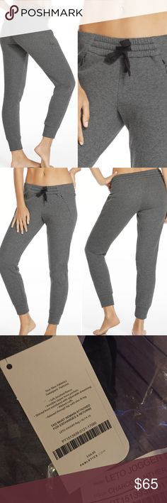 XL Fabletics Leto Jogger NWT Fabletics Leto Jogger pant in charcoal Heather color. Super cute! NWT and sold out online! Price firm no trades. Size XL Fabletics Pants Track Pants & Joggers