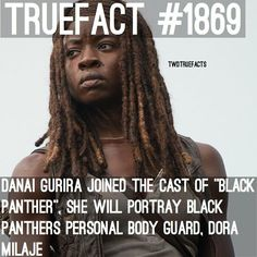 """Danai Gurira! Well.. We know this is going to start the """"Who Got Lucille'd"""" rumor even more!"""