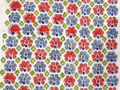 1 Yard Sanganer Cotton Natural Sewing Craft Hand Block Print Running Fabric V280 #NamasteyJaipur