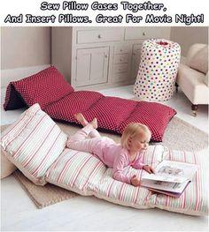 DIY make your own pillow mat