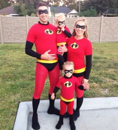 Incredibles costume. This was so fun and super easy! & Incredibles Costume Tutorial | Pinterest | Incredibles costume ...