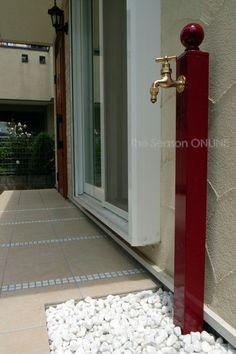 Garden Tap ガーデンタップ(立水栓)1口蛇口・ボールタイプ:DAA21A:ザ・シーズンONLINE - Yahoo!ショッピング - ネットで通販、オンラインショッピング
