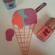 ...our Nail Pop Ice-Cream Sundae! xx