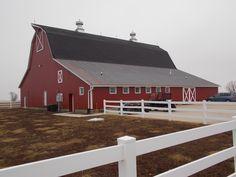 The Big Red Barn, New Windsor, Illinois.  Photo by Marske Music Productions - Kirk Marske, DJ & Emcee - www.marskemusic.com, info@marskemusic.com