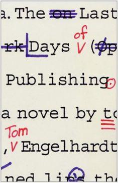 Me gusta esta portada, el guiño a lo de las correcciones. Por si algún editor quiere copiarla...