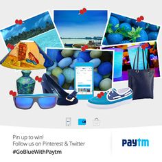 Tell us your #BlueTales & #GoBlueWithPaytm