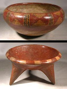Chupicuaro Pottery Bowls — Mexico  500 BC - 100 BC