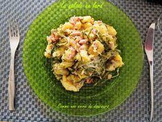 Un plat simple, économique et adaptable à vos envies           Ce plat traditionnel remonte à loin , mais on a pas de date précise, Plat Simple, Lard, Cantaloupe, Fruit, Salad, Recipe
