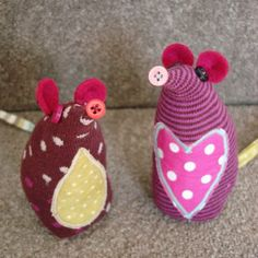 The Beauty is in the Detail: I made this! - Sock Mouse!