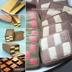 French Sables Checkerboard Cookies