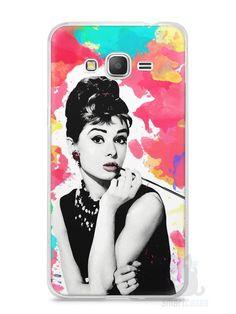 Capa Samsung Gran Prime Audrey Hepburn #5 - SmartCases - Acessórios para celulares e tablets :)
