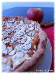 Veganer Apfelkuchen Pie, Desserts, Food, Vegan Apple Cake, Dessert Ideas, Food Food, Rezepte, Torte, Tailgate Desserts