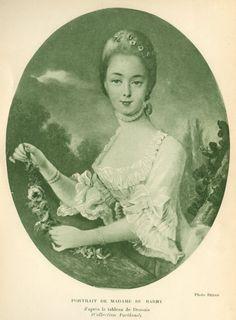 Portrait de Marie-Jeanne Bécu, comtesse du Barry, d'après François-Hubert Drouais