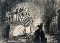 Bella Notte  Sketch and Concept Art for Lady and the Tramp