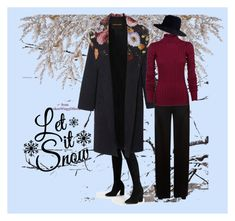 """""""Snow time."""" by strawberryblond on Polyvore featuring Temperley London, Theory and Janessa Leone"""