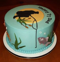 fisherman birthday cake - Google'da Ara