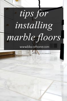 Tips for Installing Marble Floors