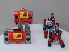 Transformers G1 Blaster and Perceptor