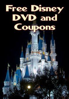 Disney: Free Disney Parks DVD + Money-SavingOffers - #disney