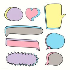 Creative Mind Map, Dialogue Bubble, Apple Logo Wallpaper Iphone, Note Doodles, Cute Clipart, Good Notes, Instagram Story Template, Day Planners, Free Illustrations