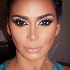 #ShareIG @houseoflashes iconic lashes being the focus on reality star @lauramgovan, makeup by me  can't wait for her new show!!