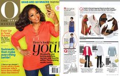 Don't miss CJ's Wisdom ankle skinny in Optic White featured in the June issue of O Magazine