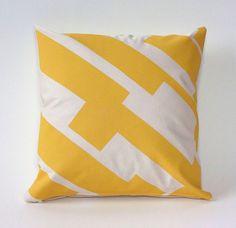 Graphic textiles by Au Retour via happymundane.com