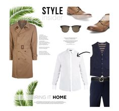 """Sea breeze."" by zeljkaa ❤ liked on Polyvore featuring Prada, Maison Margiela, Dolce&Gabbana, Steve Madden, Brooks Brothers, Gucci, Tom Ford, men's fashion and menswear"
