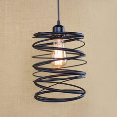 E27 Loft Vintage Retro Chandeliers Pendant Lamp Ceiling Hanging Lighting for…