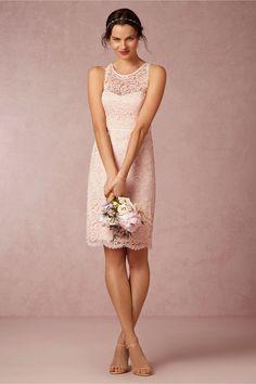 Sloane Bridesmaids Dress in blush from @BHLDN