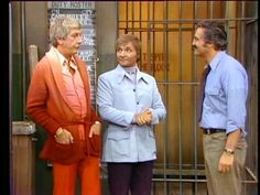 Barney Miller: Barney with my favorite guest characters, Marty and Darryl. Marty was a chronic purse snatcher, and Darryl was his life partner. Barney Miller Cast, Second Season, Life Partners, Yesterday And Today, Best Tv, It Cast, Seasons, Cable, Purse