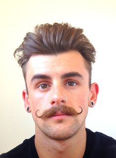 Mustache like this is so darn attractive on some guys