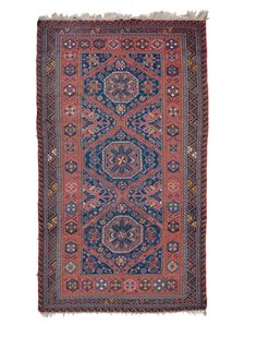A Caucaso Soumak carpet begin 20th century.Overall very good condition. from cambi casa d'este