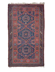 A Caucaso Soumak carpet begin 20th century.Overall very good condition. from cambi casa d'este