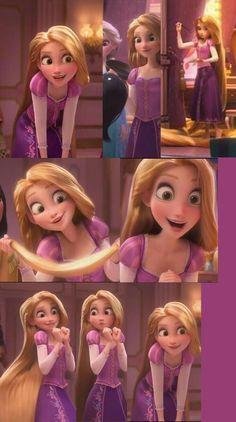 Rapunzel from ralph 2 disney princess. Disney Pixar, All Disney Princesses, Disney Princess Rapunzel, Disney Princess Drawings, Disney Princess Pictures, Disney Tangled, Disney Pictures, Disney And Dreamworks, Disney Animation