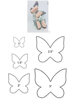 Bows For Babies Baby Bows Diy Butterfly Butterfly Template Felt Bows Ribbon Bows Diy Hair Bows Diy Bow Diy Headband Making Hair Bows, Diy Hair Bows, Diy Bow, Felt Flowers, Fabric Flowers, Paper Flowers, Bow Template, Butterfly Template, Butterfly Stencil