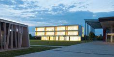 Erweiterung Gymnasium Neufahrn   Deppisch Architekten   simple modular wood architecture