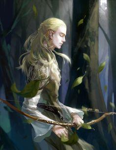"""yassena: """" Legolas by 軒rin. """""""