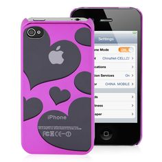 I love the case but they shouldnt make the heart clear like see through cause showing the Apple logo is ugly and tacky..