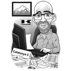 #custom #caricature #man #office #caricatura #personalizada