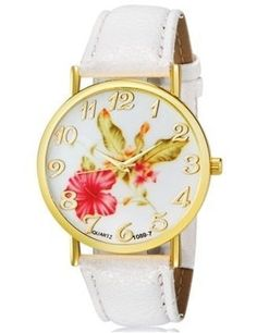 spring.quenalbertini: Flower Pattern Watch | Luulla
