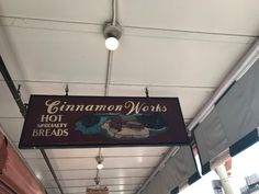 ***Cinnamon Works, Seattle. Best. Sticky buns. Ever. Good coffee, too.