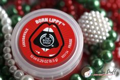 Born lippy strawberry lip balm review