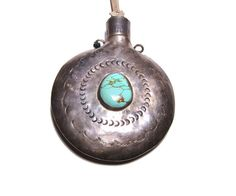 Native American Flask Antique Medicine by littlethingsvintage
