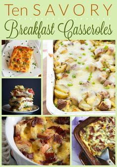 10 Must-Try Savory Breakfast Casseroles