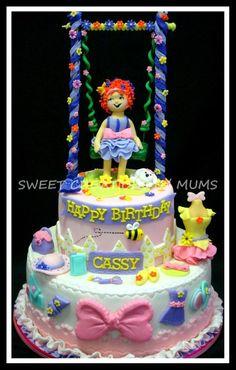 Fancy Nancy Cake via Cake Decor by Jo-ann, Manila Philippines