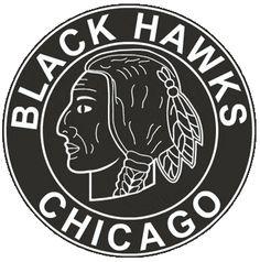 The original Chicago Blackhawks logo