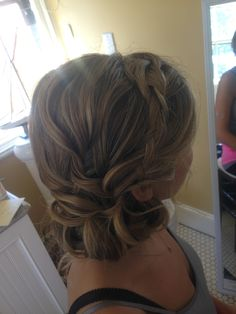 Braided updo , bridal updo, bridal hairstyles, hairstyles, wedding, wedding hair, hair , braids